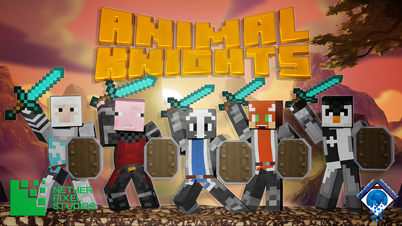 Animal Knights on the Minecraft Marketplace by Netherpixel
