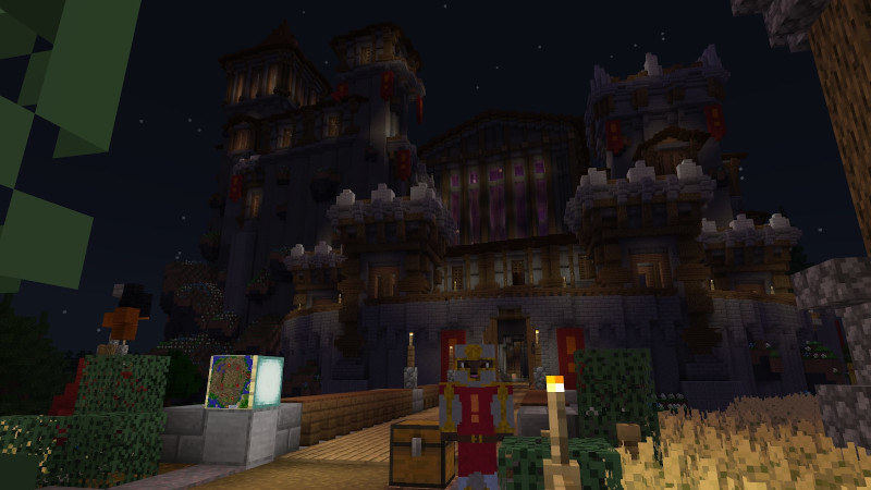 The Last Castle on the Minecraft Marketplace by Entity Builds