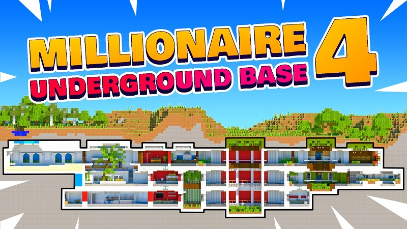 Millionaire Underground Base 4 on the Minecraft Marketplace by BBB Studios