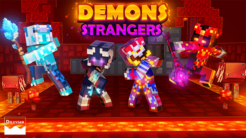 Demons Strangers on the Minecraft Marketplace by Diluvian