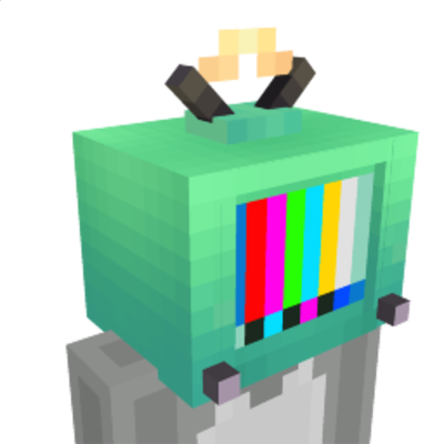 TV Head on the Minecraft Marketplace by The Rage Craft Room