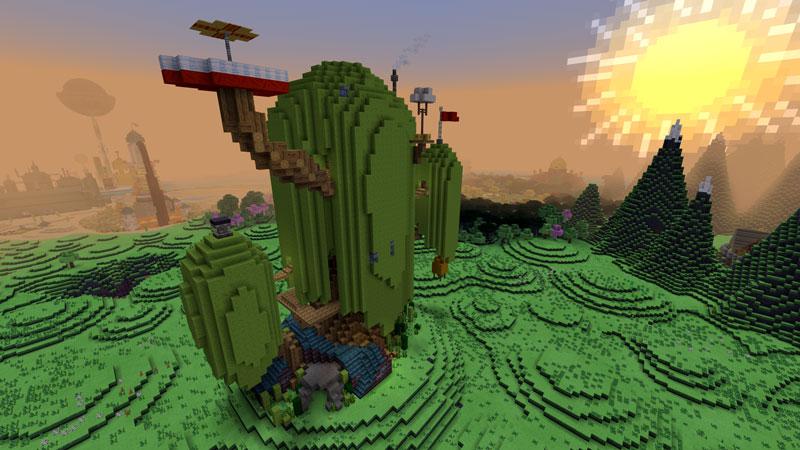 Adventure Time Mashup By Minecraft Minecraft Marketplace Via Playthismap Com