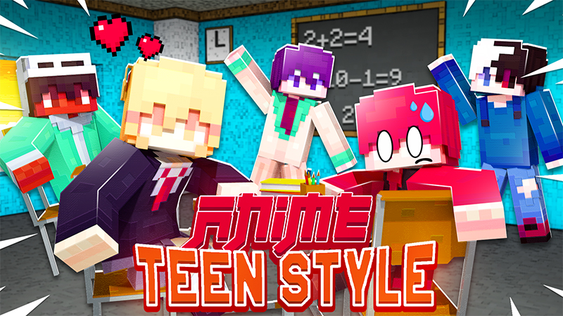 Anime Teen Style on the Minecraft Marketplace by Kubo Studios