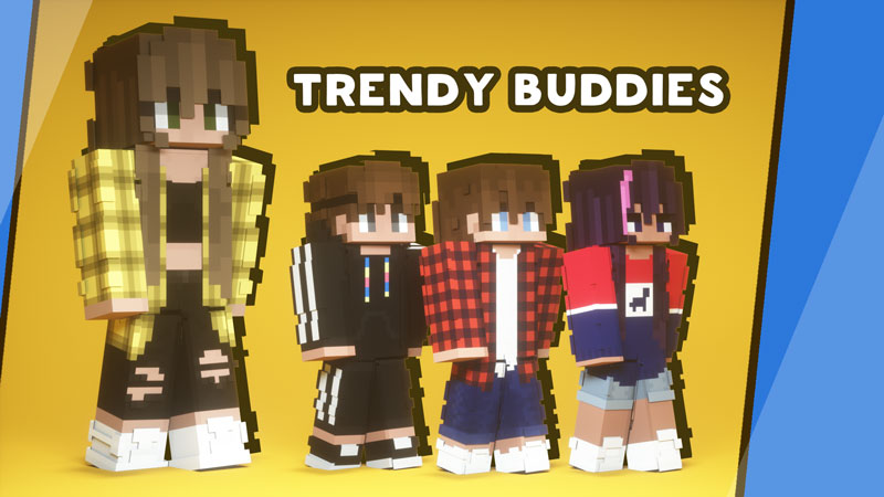 Trendy Buddies on the Minecraft Marketplace by Owls Cubed