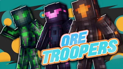 Ore Troopers on the Minecraft Marketplace by BLOCKLAB Studios