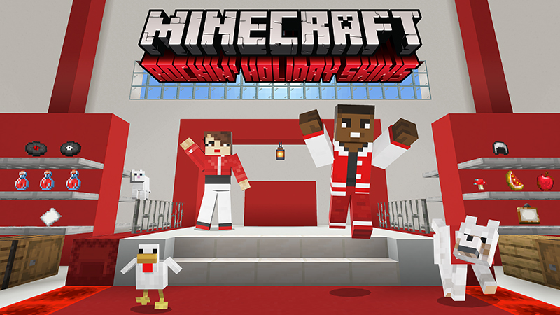 Rockin Holiday Skins on the Minecraft Marketplace by Minecraft