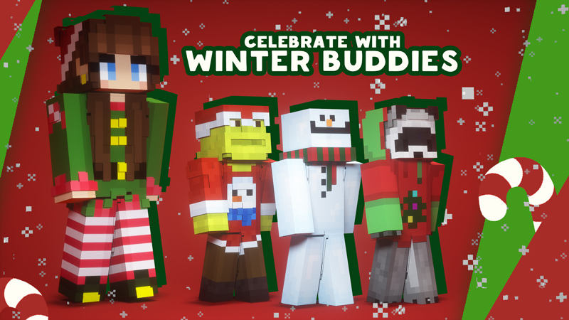 Winter Buddies on the Minecraft Marketplace by Owls Cubed