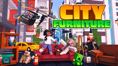 City Furniture on the Minecraft Marketplace by Kubo Studios