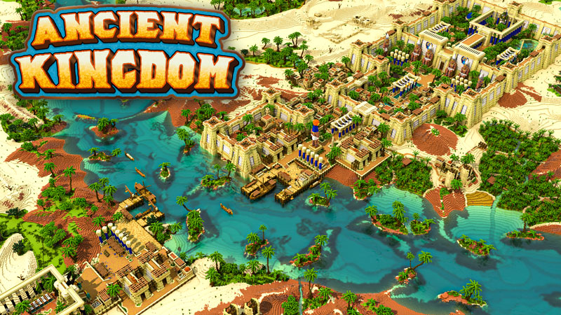 Ancient Kingdom on the Minecraft Marketplace by Blockception