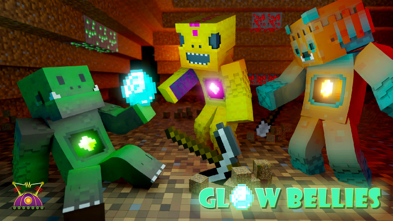 Glow Bellies on the Minecraft Marketplace by Cleverlike