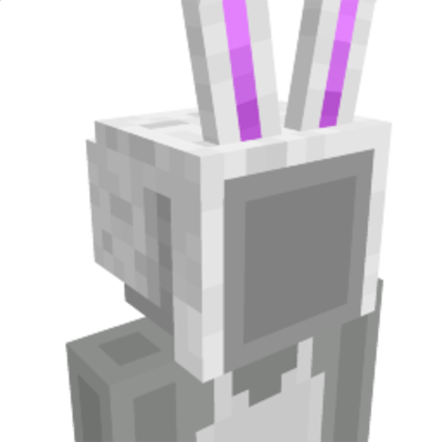 Bunny Hat on the Minecraft Marketplace by 57Digital