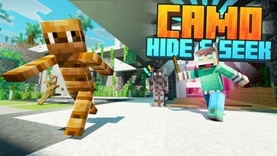Camo Hide  Seek on the Minecraft Marketplace by Cubed Creations