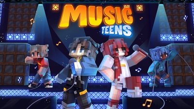 Music Teens on the Minecraft Marketplace by BLOCKLAB Studios