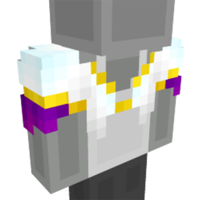 White Bolero Jacket on the Minecraft Marketplace by Cynosia