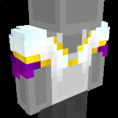 White Bolero Jacket on the Minecraft Marketplace by Cynosia