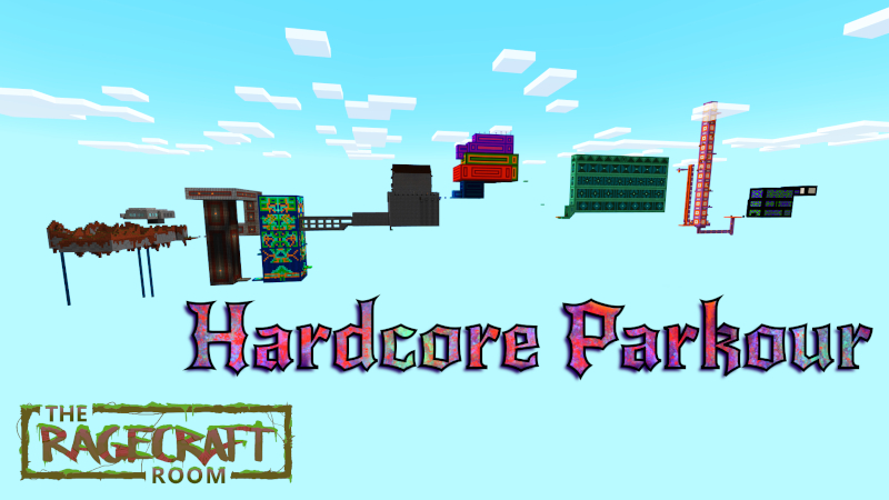 Hardcore Parkour on the Minecraft Marketplace by The Rage Craft Room