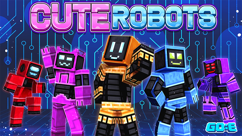 Cute Robots on the Minecraft Marketplace by GoE-Craft