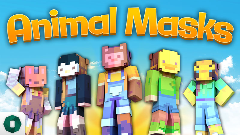 Animal Masks on the Minecraft Marketplace by Octovon