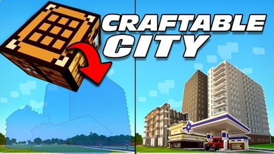 Craftable City on the Minecraft Marketplace by Lifeboat