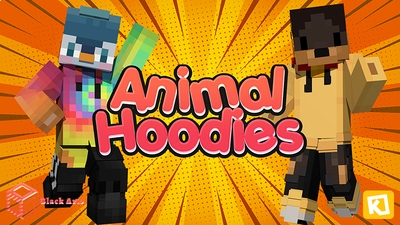 Animal Hoodies on the Minecraft Marketplace by Black Arts Studios