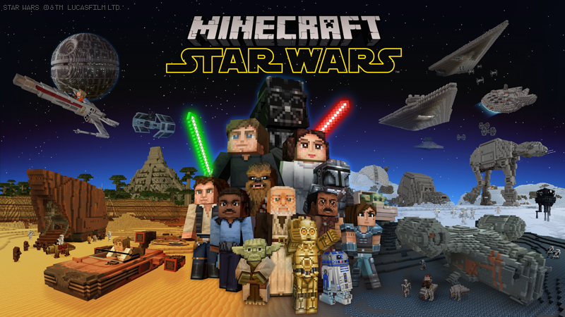 STAR WARS on the Minecraft Marketplace by Minecraft