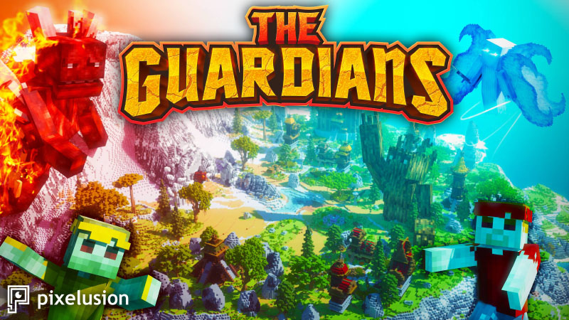 The Guardians on the Minecraft Marketplace by Pixelusion