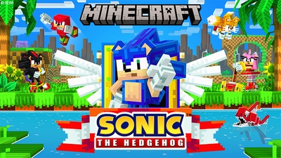 Sonic the Hedgehog on the Minecraft Marketplace by Gamemode One