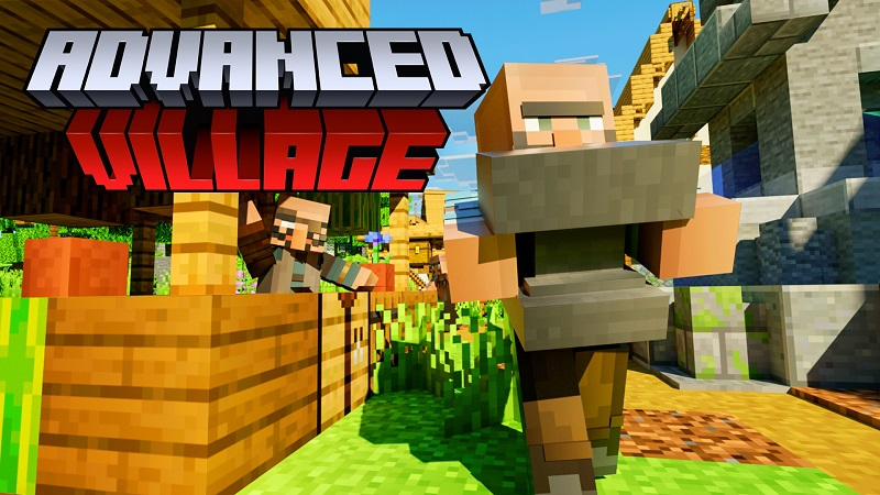 Advanced Village on the Minecraft Marketplace by Nitric Concepts