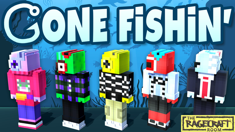 Gone Fishin on the Minecraft Marketplace by The Rage Craft Room