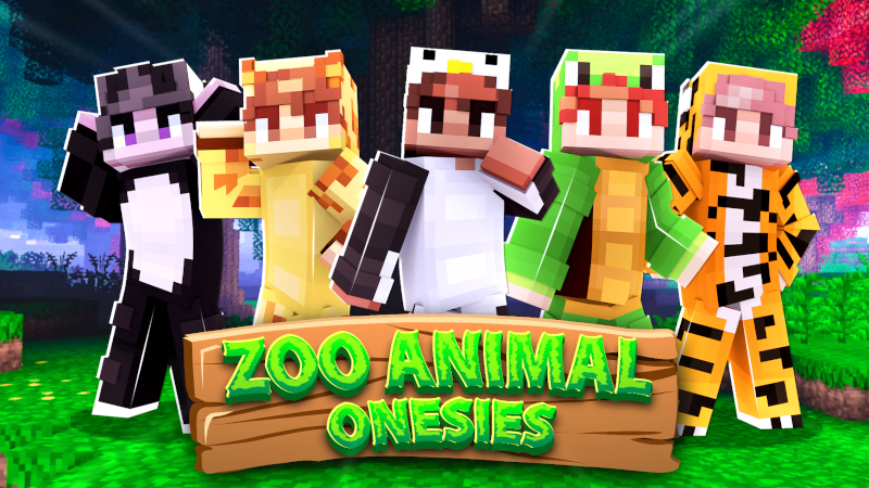Zoo Animal Onesies on the Minecraft Marketplace by Cynosia