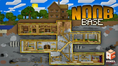 Noob Base on the Minecraft Marketplace by BLOCKLAB Studios