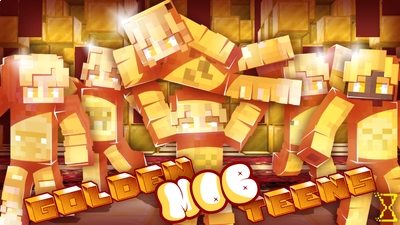 Golden Mob Teens on the Minecraft Marketplace by Hourglass Studios