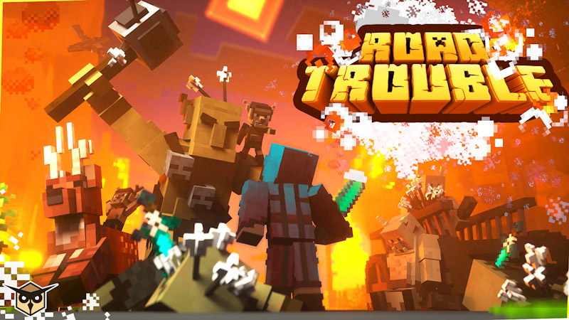 Road Trouble on the Minecraft Marketplace by Owls Cubed