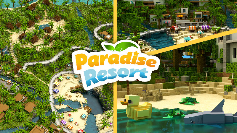 Paradise Resort on the Minecraft Marketplace by Blockception