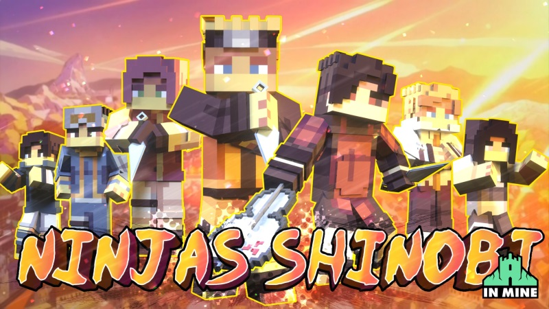 Ninjas Shinobi on the Minecraft Marketplace by In Mine