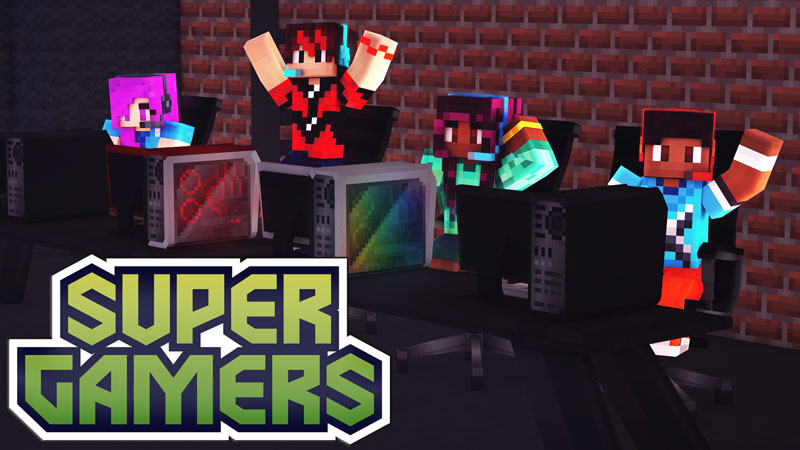 Super Gamers on the Minecraft Marketplace by Blockception