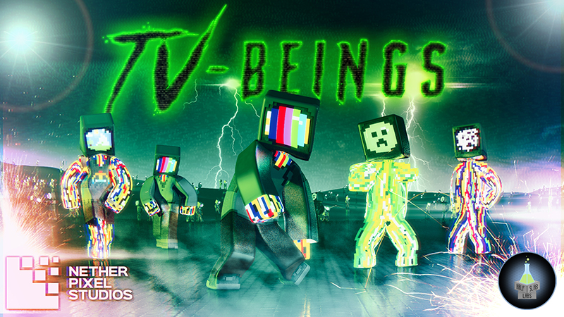 TVBeings on the Minecraft Marketplace by Netherpixel