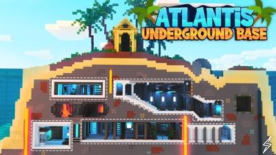Atlantis Underground Base on the Minecraft Marketplace by Senior Studios