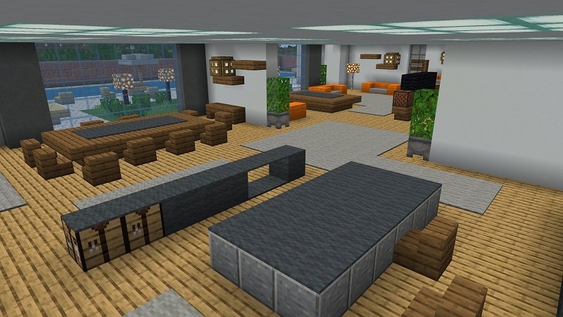 Modern Mansions on the Minecraft Marketplace by Nitric Concepts