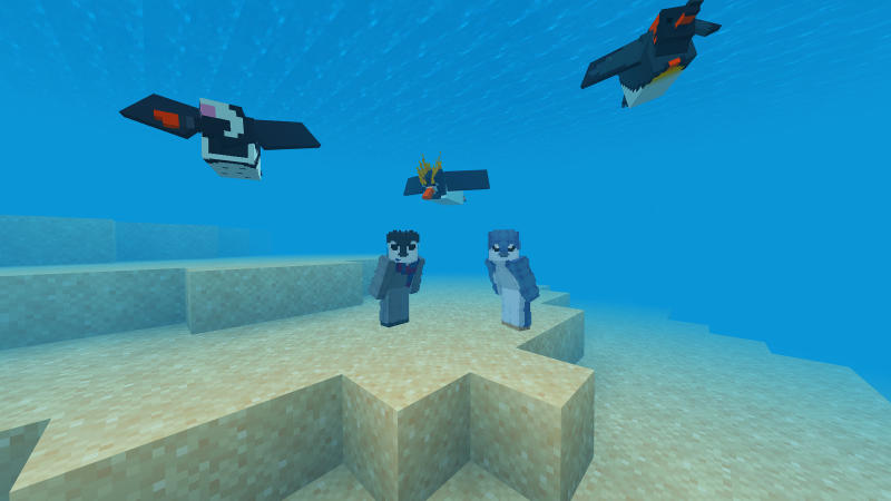 Penguins by BLOCKLAB Studios