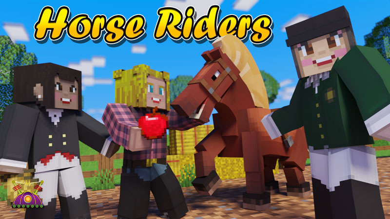 Horse Riders on the Minecraft Marketplace by Cleverlike