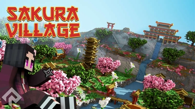 Sakura Village on the Minecraft Marketplace by RareLoot
