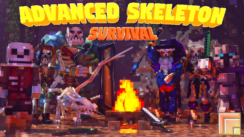Advanced Skeleton Survival on the Minecraft Marketplace by inPixel