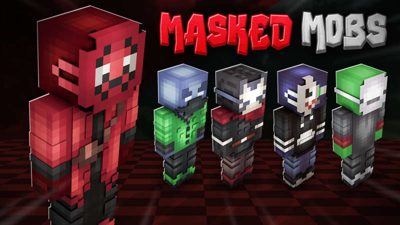Masked Mobs on the Minecraft Marketplace by RareLoot