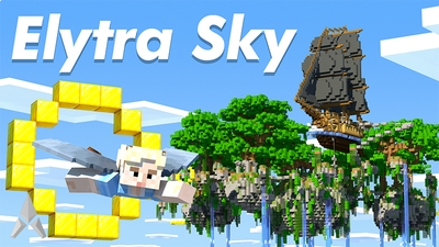 Elytra Sky on the Minecraft Marketplace by Mine-North