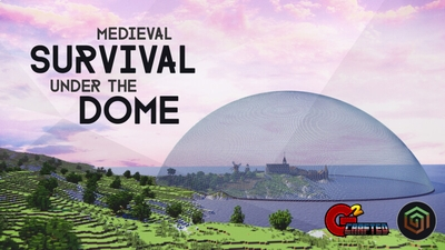 Medieval Survival Under Dome on the Minecraft Marketplace by G2Crafted