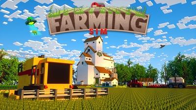 Farming Sim on the Minecraft Marketplace by Aurrora