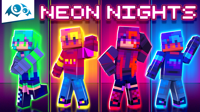 Neon Nights on the Minecraft Marketplace by Monster Egg Studios