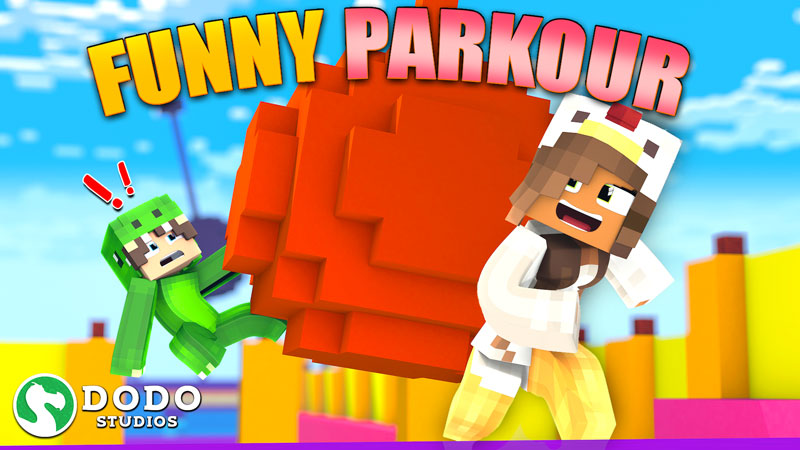 Funny Parkour on the Minecraft Marketplace by Dodo Studios