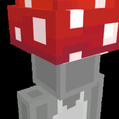 Mushroom Cap on the Minecraft Marketplace by Polymaps